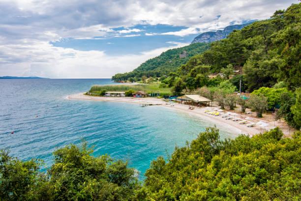 Cinar Beach in Turkey stock photo
