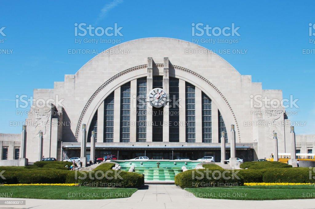 Cincinnati Museum Center at Union Terminal stock photo
