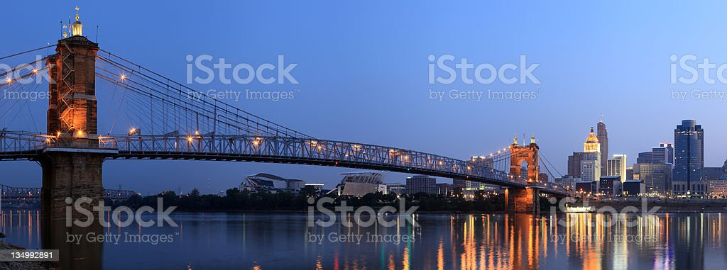 Cincinnati, Ohio royalty-free stock photo