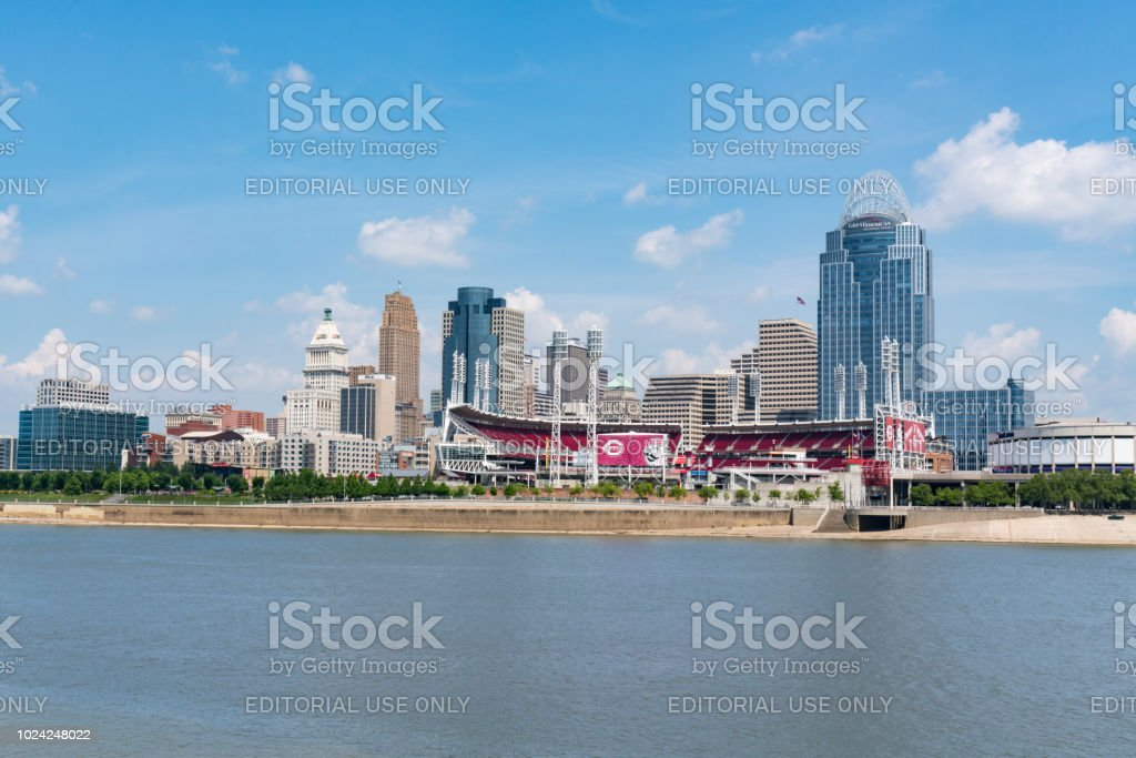 Cincinnati, Ohio Skyline stock photo