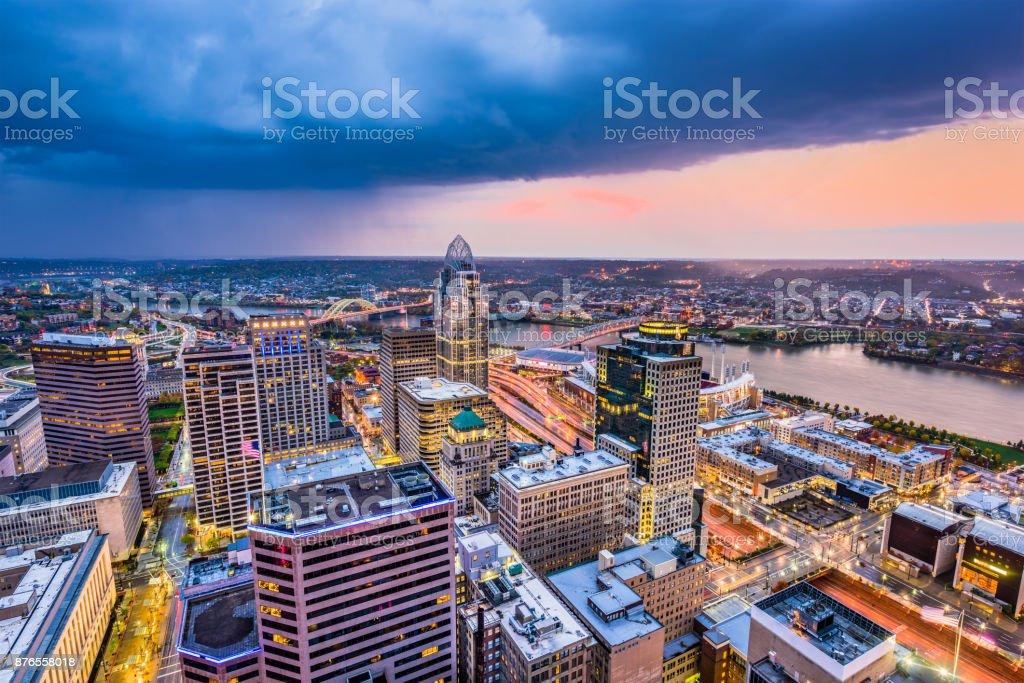 Cincinnati, Ohio, USA stock photo