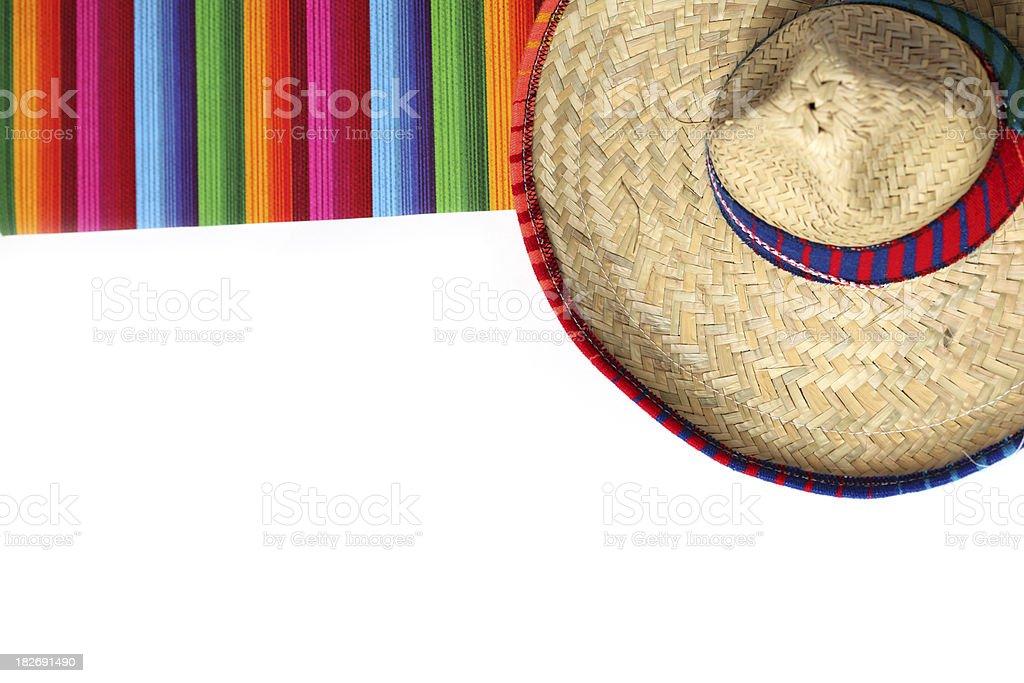 Cinco de Mayo Border royalty-free stock photo