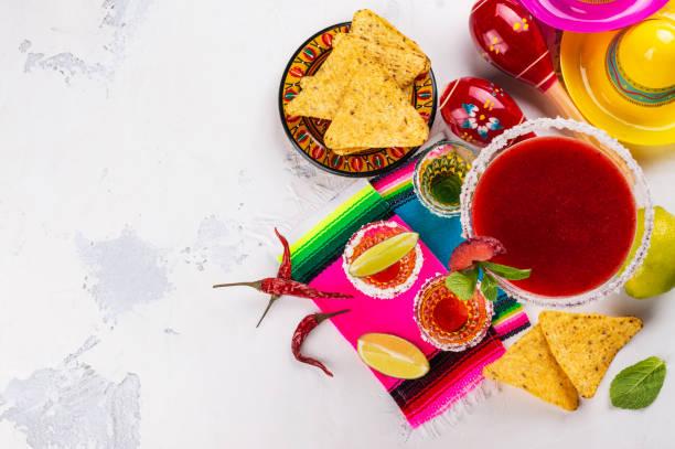 cinco de mayo celebration bakgrund - cactus lime bildbanksfoton och bilder