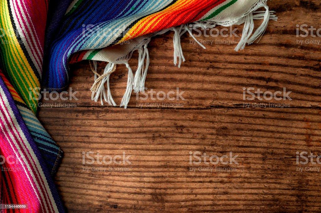 Cinco de mayo fiesta party and indigenous cultures of Mexico concept...