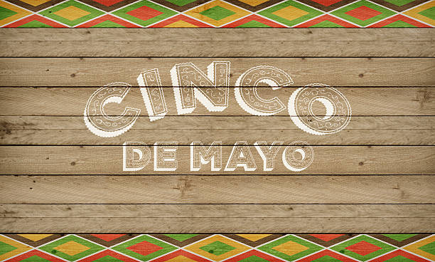 cinco de mayo mexican celebration in the usa banner - cinco de mayo stock photos and pictures