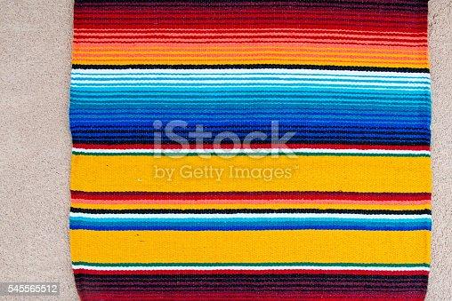Cinco de Mayo Mexico Fiesta Sarape Textile Background