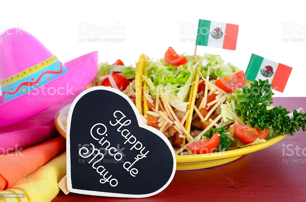 Cinco de Mayo party concept stock photo