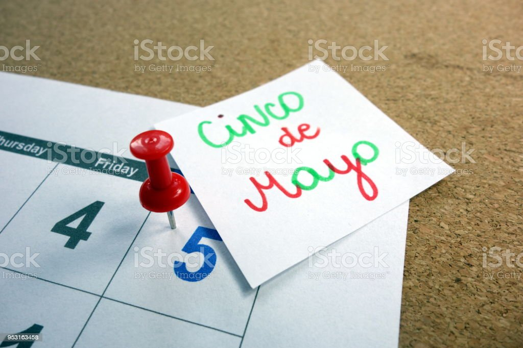 Cinco de Mayo stock photo
