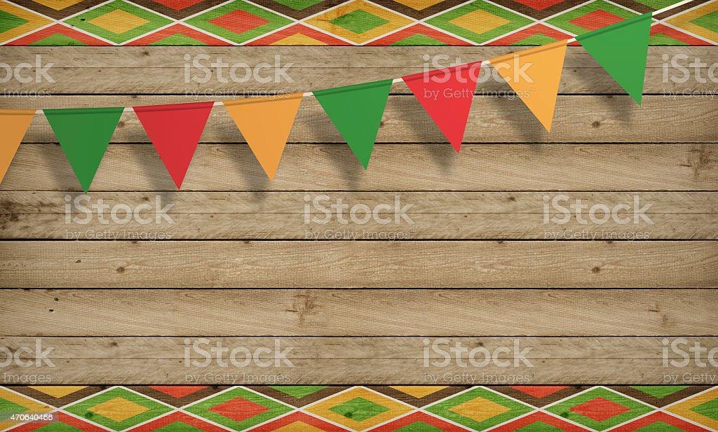 Cinco de Mayo, USA Mexican Celebration, Backgrounds. Wood copy space stock photo