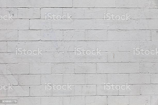 Cinder Block Wall Stock Photo - Download Image Now