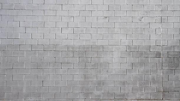 cinder häuserblocks - betonblock wände stock-fotos und bilder