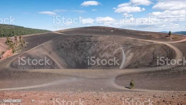 Photo of Cinder Cone Crater, Lassen Volcanic National Park, California