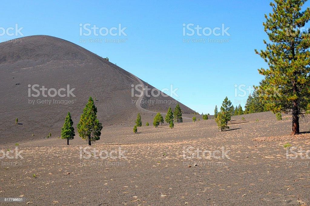 Cinder Cone stock photo