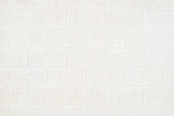 cinderblock wall - betonblock wände stock-fotos und bilder