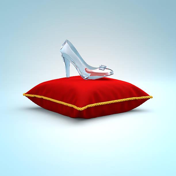 Cinderella glass slipper on the red pillow side view picture id512506772?b=1&k=6&m=512506772&s=612x612&w=0&h=n grj3zfratqmo avha1wov9yd296cphpnq37c vmf4=