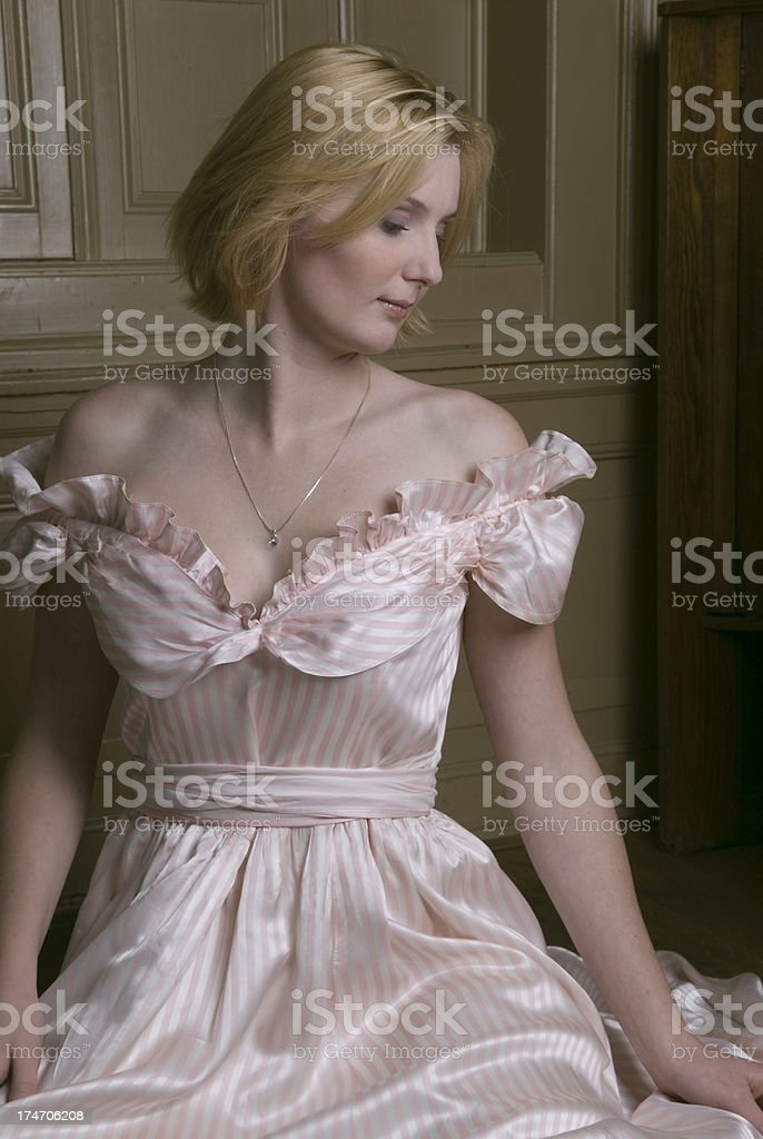 Cinderella portrait stock photo