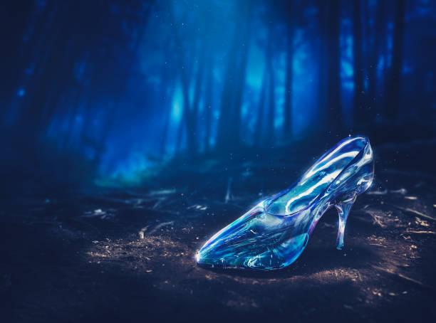 Cinderellas slipper in a forest in the nighttime 3d rendering picture id1003943824?b=1&k=6&m=1003943824&s=612x612&w=0&h=u7hr1giixbh9bvmw1ipvzucxzbfw xrgn5awyfovink=