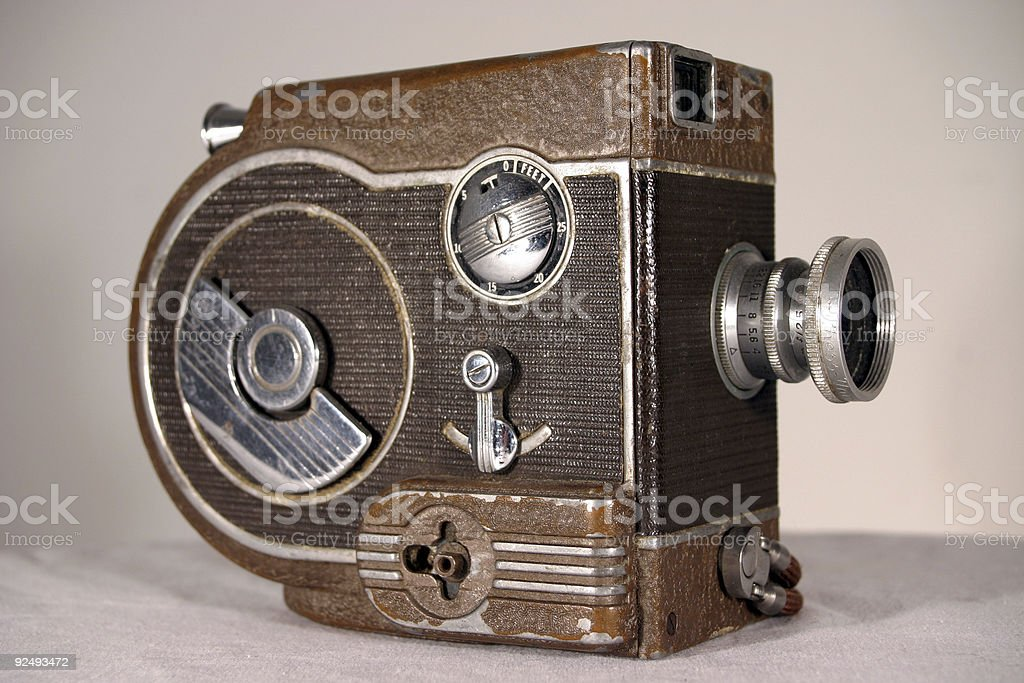 Cine Eight Camera - 45 angle view royalty-free stock photo