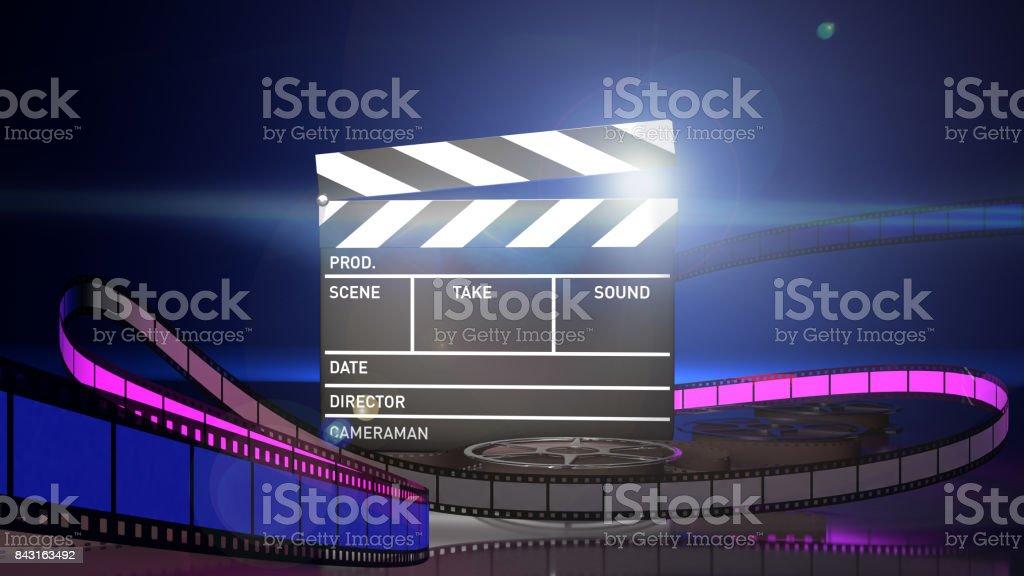 Cinema and video stock photo