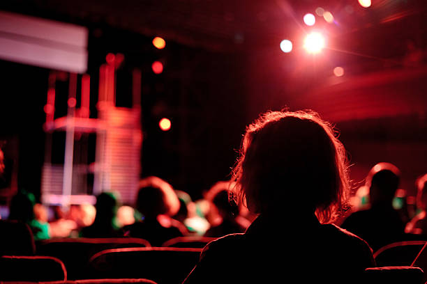 cinema audience cinema audience performing arts event stock pictures, royalty-free photos & images