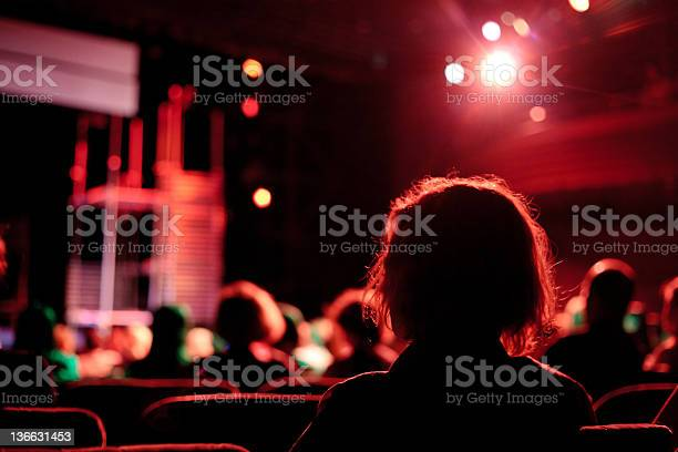 Cinema Audience Stock Photo - Download Image Now