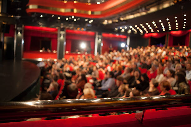 cinema audience cinema audience theatrical performance stock pictures, royalty-free photos & images