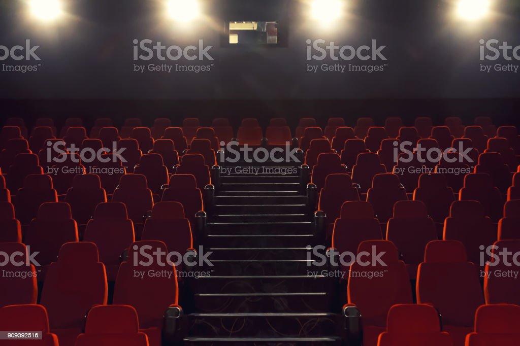 Kino-Stadt bietet Platz für Raum und Licht-Projektoren – Foto