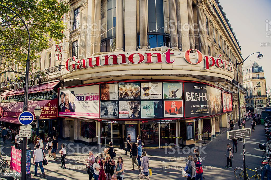 Cinema Complex Gaumont Opera Stock Photo - Download Image Now