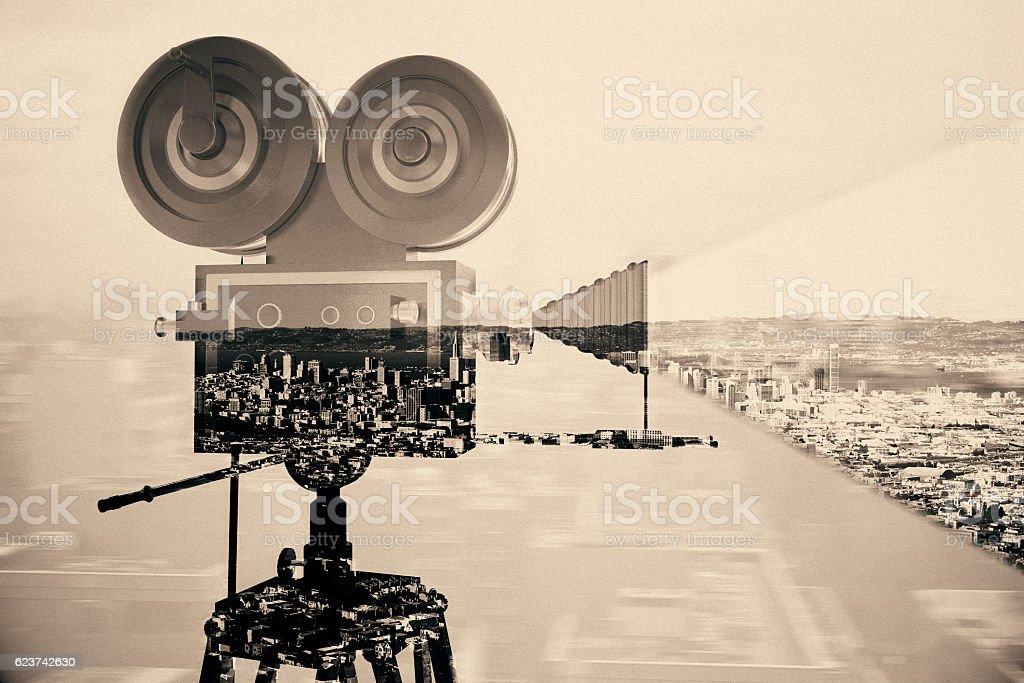 Cinema concept stock photo