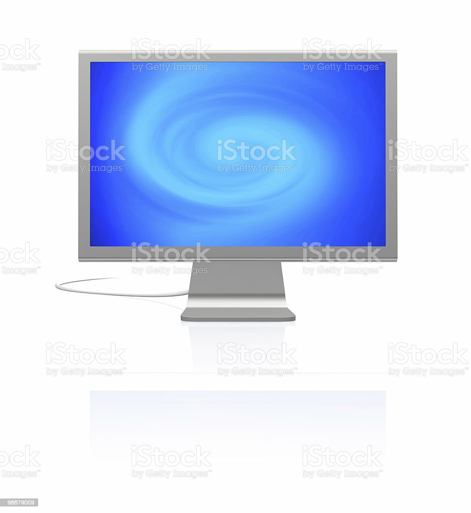 cinema display royalty-free stock photo