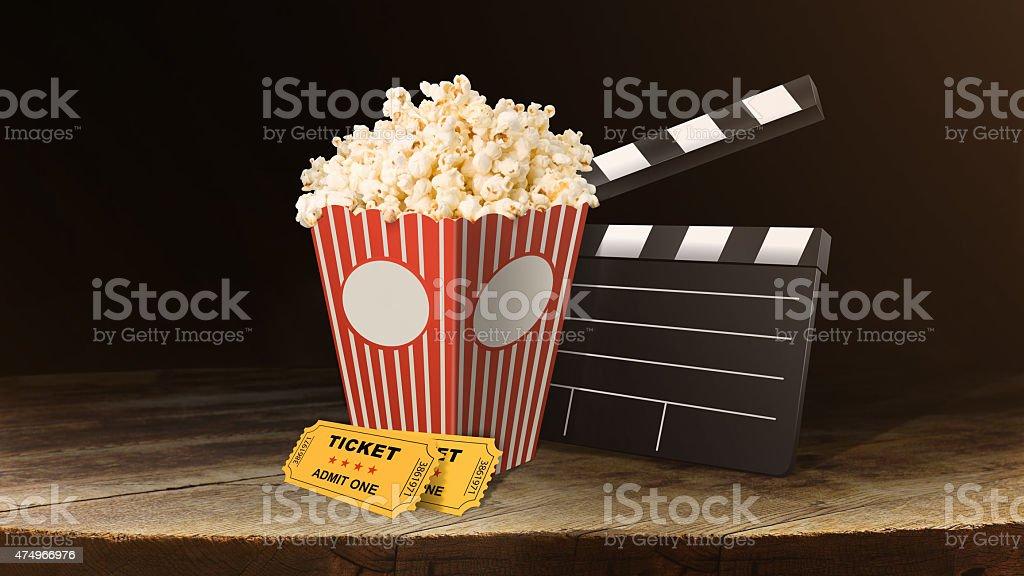 Cinema Festival stock photo