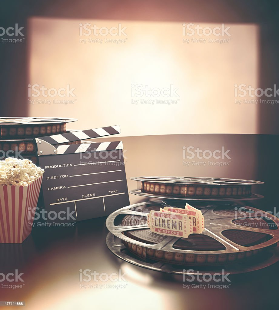 Cinema Festival stock photo