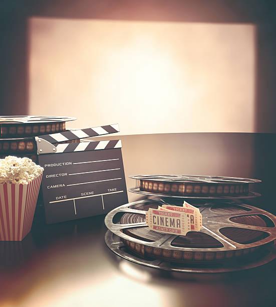 festival del cinema - biglietto del cinema foto e immagini stock