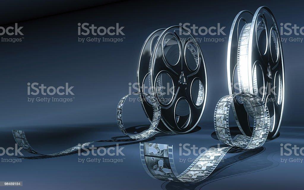 Cinema film royalty-free stock photo