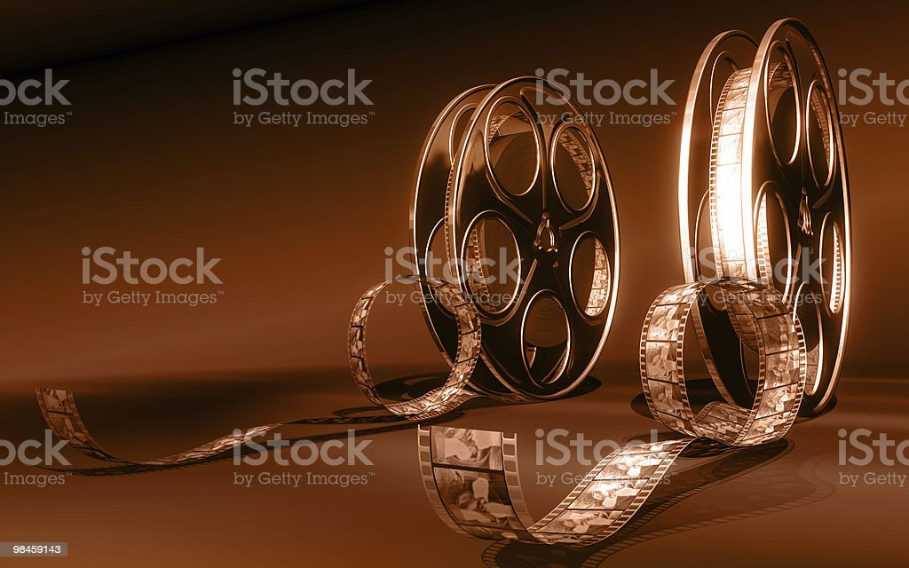 Cinema film royalty-free stock photo