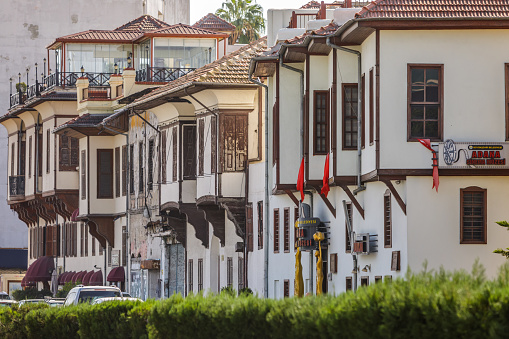 Cinema Museum And Old Houses In Traditional Style Adana Turkey Stock Photo Download Image Now Istock
