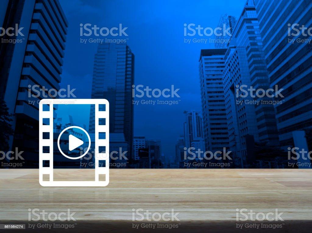 Cinema online concept stock photo
