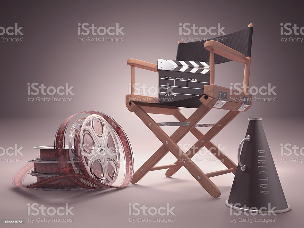 Cinema Studio royalty-free stock photo