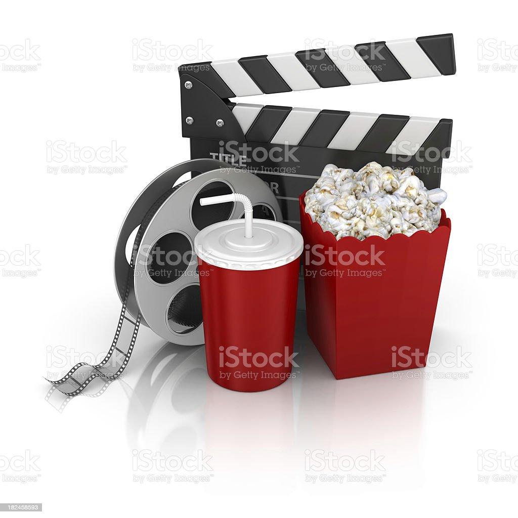 cinema stuff royalty-free stock photo