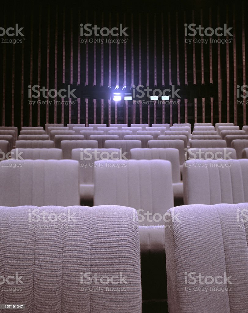 Cinema Theater stock photo