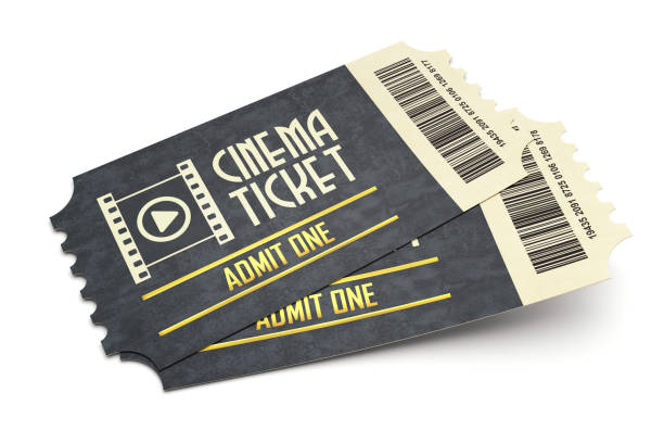 cinema tickets - ticket stock photos and pictures