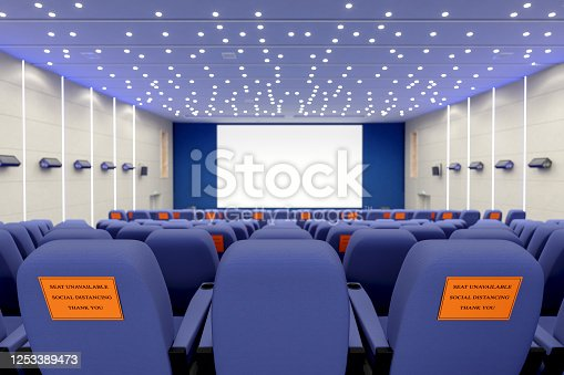 Cinema with Covid-19 Social Distancing