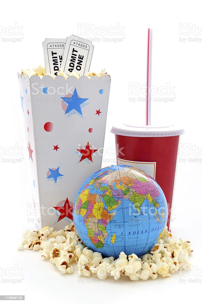 cinema world stock photo