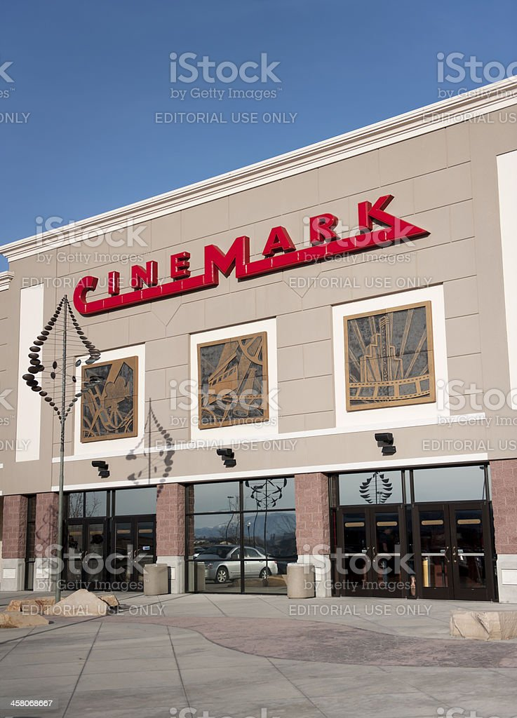 Cinemark Movie Theatre In American Fork Utah Stock Photo More