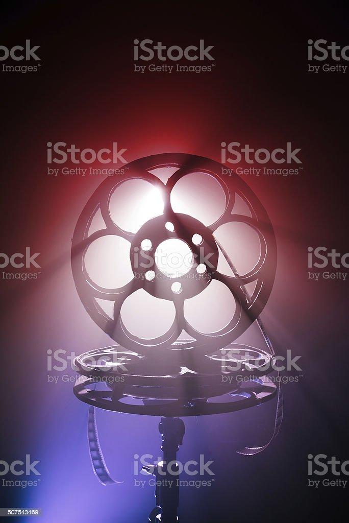 cinematographic film stock photo