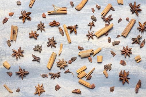 Food Background dried fruit