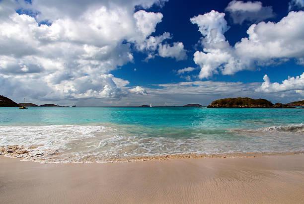 Cinnamon Beach stock photo