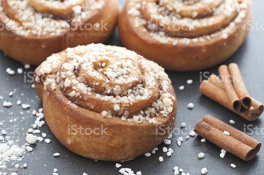 Cinnamon Bun bildbanksfoto