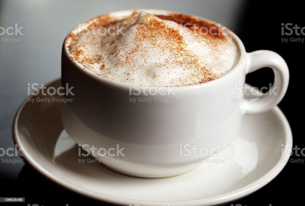 Cinnamon coffee royalty-free stock photo