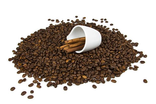 Cinnamon Coffee stock photo